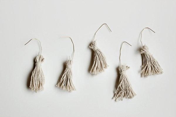 金色的流苏装饰DIY-沈阳婚庆网