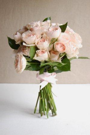 DIY A Garden Rose Bouquet Project Wedding