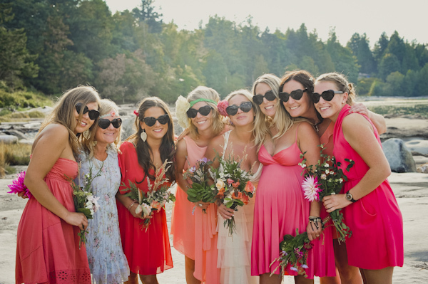 beachy bridesmaid dresses
