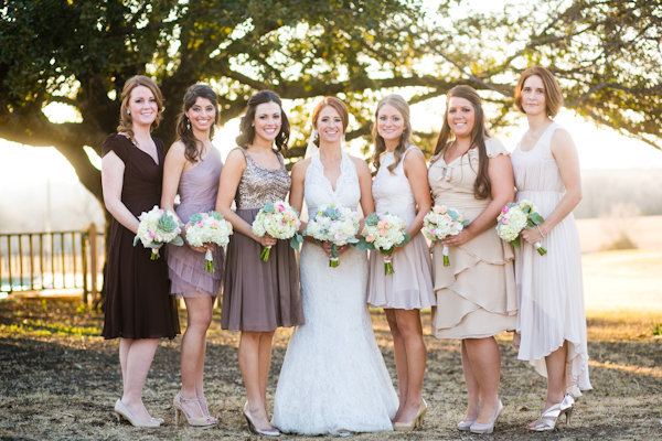 country rustic bridesmaid dresses
