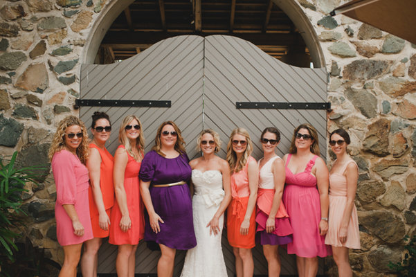 beach casual bridesmaid dresses