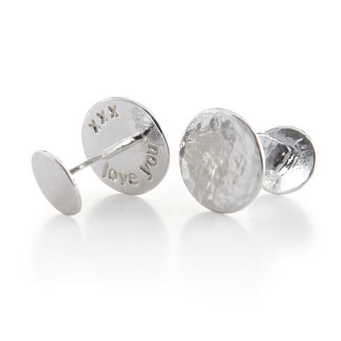 silver mark & graham cufflinks