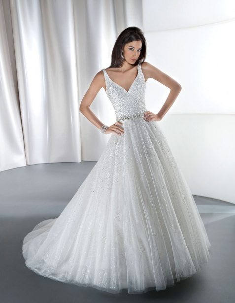 demetrios ball gown